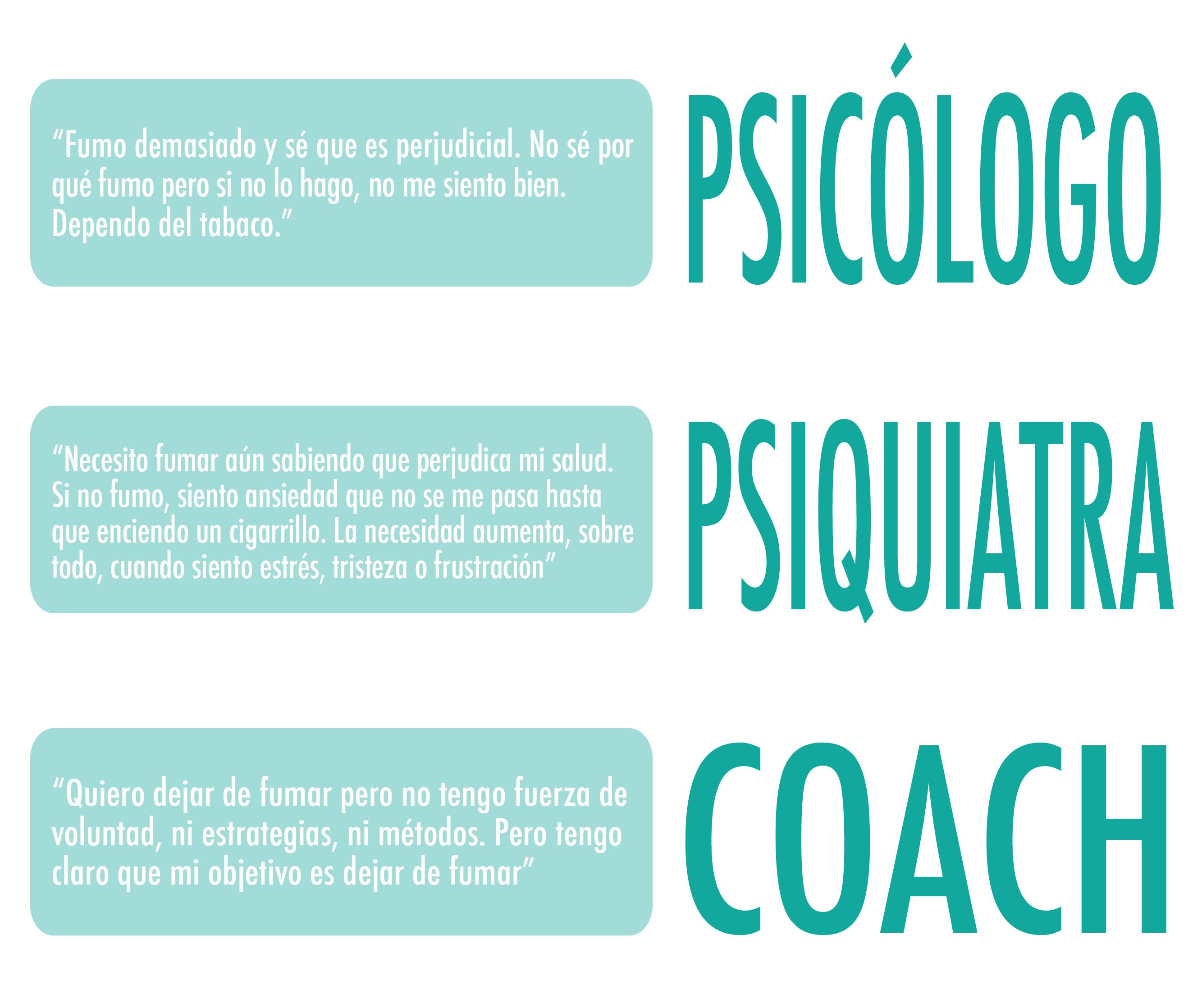 ¿Sabemos diferenciar entre psicólogo y psiquiatra?