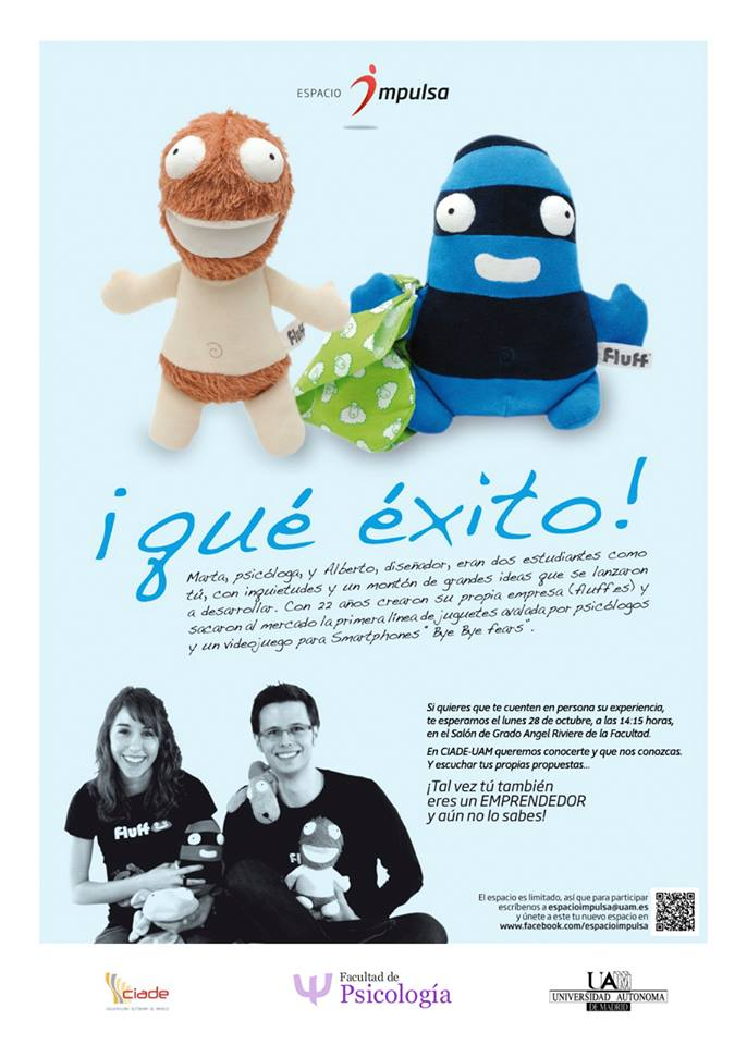 Fluff contará su experiencia como psicólogos emprendedores en Madrid