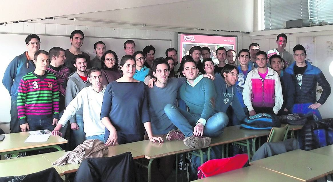 Siquia promueve los valores emprendedores entre los alumnos del insituto Camino de la Miranda de Palencia
