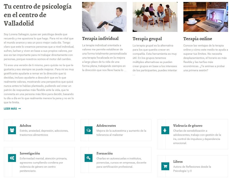 Centro Psicológico Valladolid estrena web con la colaboración de Siquia