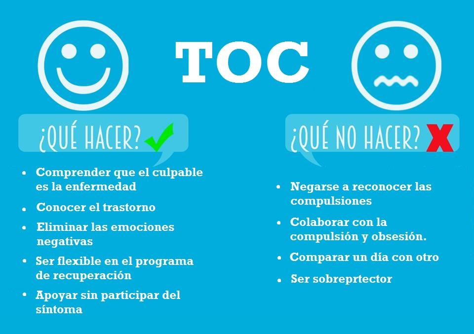 La psicoterapia también es útil en el tratamiento del TOC