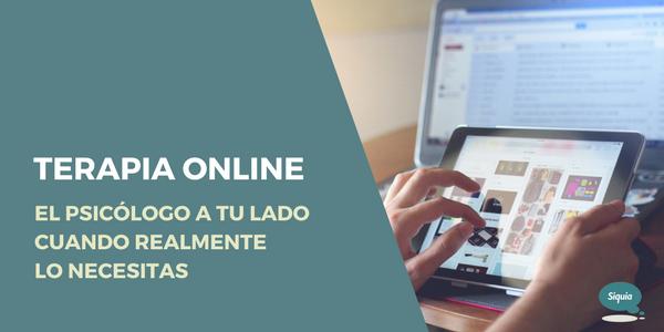 La terapia online facilita la atención al paciente y la prevención en Salud Mental